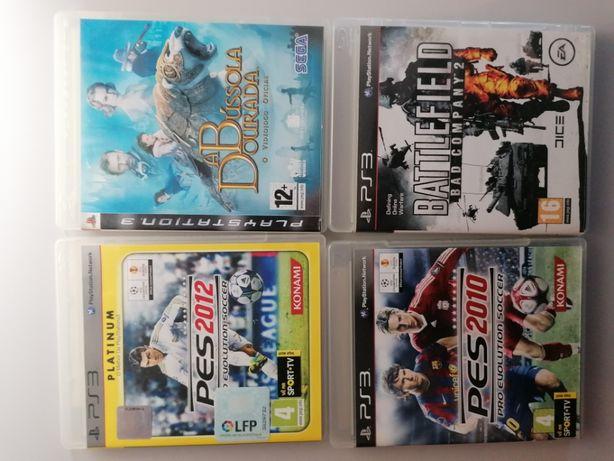 Conjunto de 4 Jogos PS3