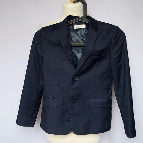 Garnitur Granatowy H&M 140 cm 9 10 lat Elegancki Zara Reserved C&A