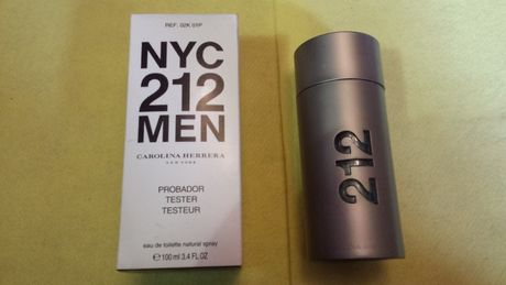 Carolina Herrera 212 Men NYC EDT 100 ml Tester