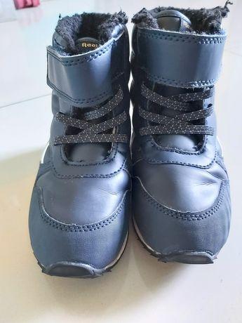 buciki buty zimowe chłopiec reebok 26