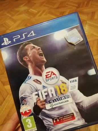 Gra na konsole PS4 FIFA 18