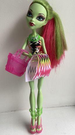 Кукла Венера Мухоловка, серия Пляжные куклы Monster High Beach Beastie