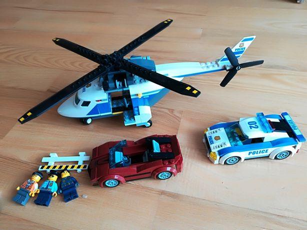 Zestaw Lego City 60138 Szybki pościg, helikopter, policja