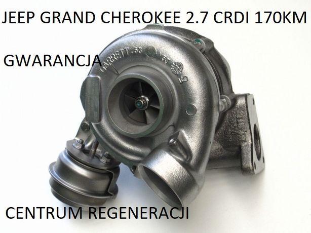 Turbina Turbosprężarka Jeep Grant Cherokee 2.7 Crdi 170km 715568 IŁAWA