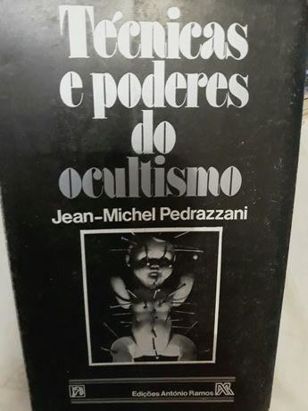 Técnicas de Poderes do Ocultismo livro raro e único