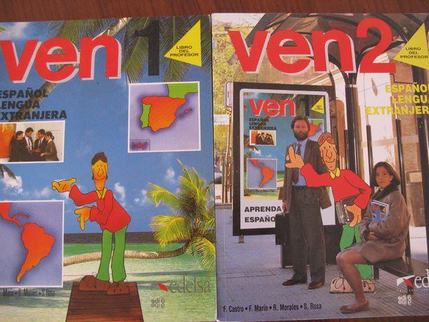 VEN 1,2 - hiszpański - Espańol Lengua Extranjera -Libro del profesor