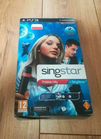 Zestaw PS3 Singstar Gra Polskie Hity 2 + mikrofony Łódź Śródmieście