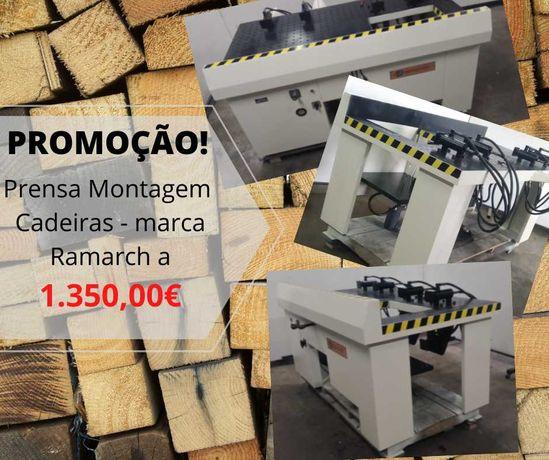 PROMOÇÃO!Prensa Hidráulica c/buraco p/Montagem Cadeiras-Ramarch