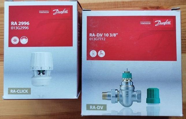 Danfoss Ra-dv+głowica Ra2996 Kątowy i prosty