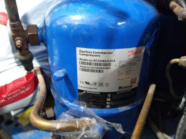 Компрессор герметичный поршневой Danfoss NTZ048A4LR1A готовый агрегат