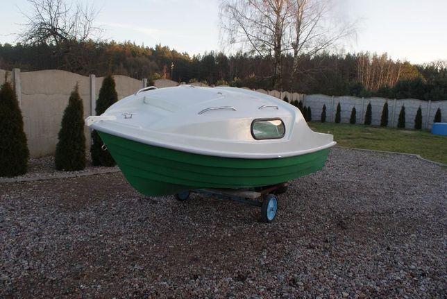 łódź łódka kabinowa wędkarska ROMAN lux producent Laminex