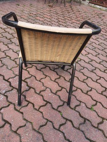 Krzesła i stoły ogrodowo- balkonowe