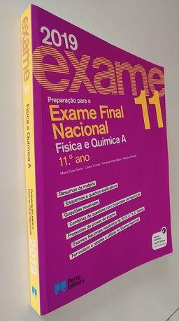Preparação exame nacional  11° ano Física e Química