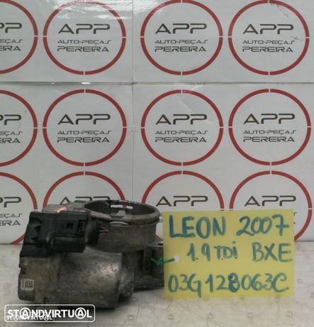 Borboleta de admissão VW Golf 5, Seat Leon, Audi A3, Skoda Octavia 1.9 TDI, ref 03G128063C