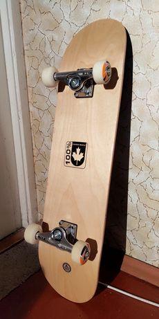 Скейт кленовый, в отличном состоянии (новый)