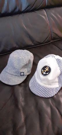 Kaszkiety kaszkietowki komplet dla dziecka 6-12 m-cy 1 czapka