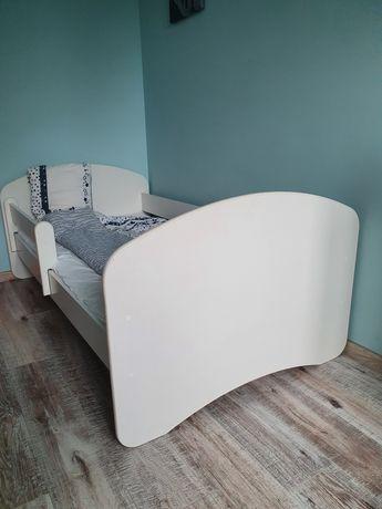 Łóżko dziecięce młodzieżowe komplet materac szuflada