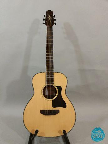 Gitara do podróży Ustawiona Lutniczo Posłuchaj NAGRANIE Traveler