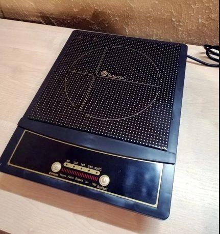 Новая Domotec MS-5832 индукционная плита однокомфорочная Домотек