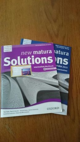 NEW Matura Soulutions INTERMEDIATE Workbook OXFORD NOWA Okazja !!
