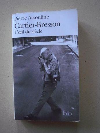 livro fotografia henri cartier bresson o olho do século françes