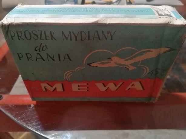 Mewa PRL-proszek mydlany do prania 1973r.
