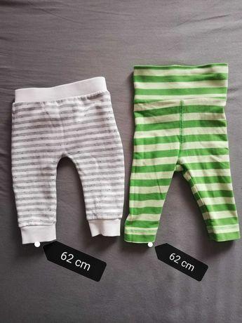 Spodnie paski chłopiec 62 cm