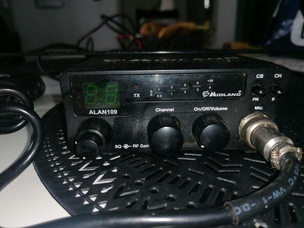 Radio CB Alan 109 +antena