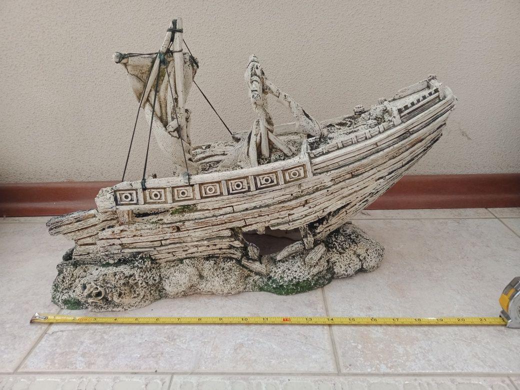 Декорации аквариумные, декор для аквариума, кораллы, корабль