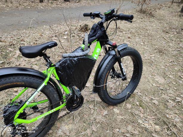 Продаю мощный Электровелосипед электрофетбайк  1000 ватт  мотор