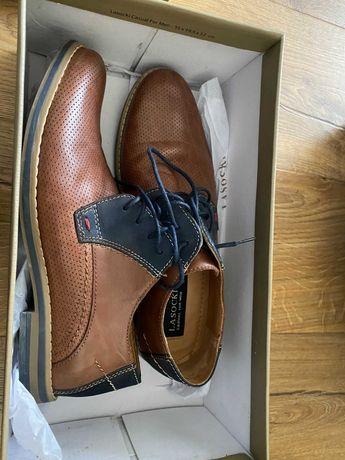 Buty męskie Lasocki, rozmiar 40, wkładka 25,5 cm
