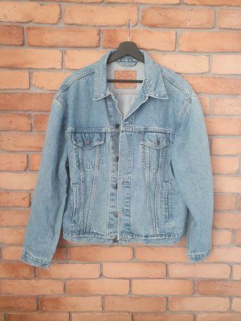 Kurtka katana jeansowa niebieska męska Levi's r. L Unisex oversize