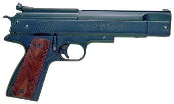 Pistolet wiatrówka HW 45 Naciąg < 17J, drewno, kal.4,5mm