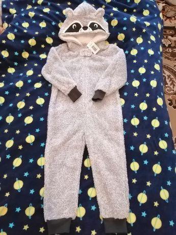 Махровая пижама Matalan, человечек, кигуруми 4-5 лет
