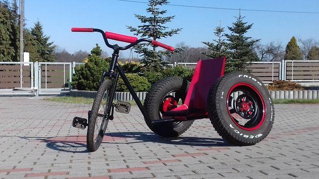 Trajka (trójkołowiec, rower, low bike)