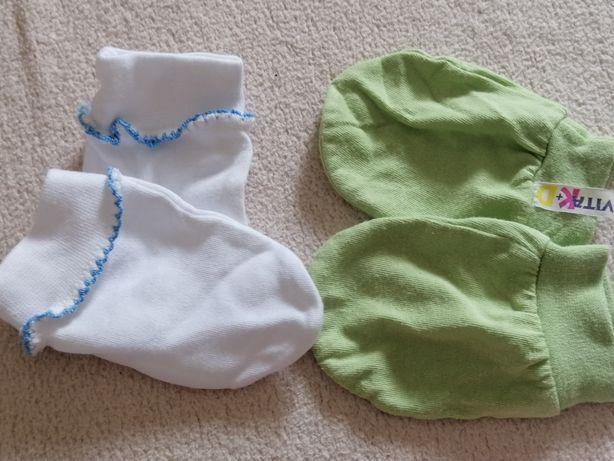 Łapki niedrapki, rękawiczki niemowlęce
