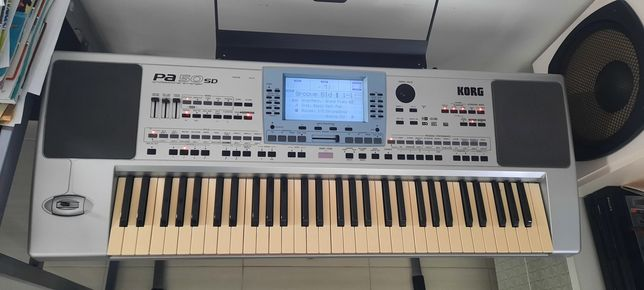 Syntezator keyboard Korg PA50 SD zamiana za perkusję