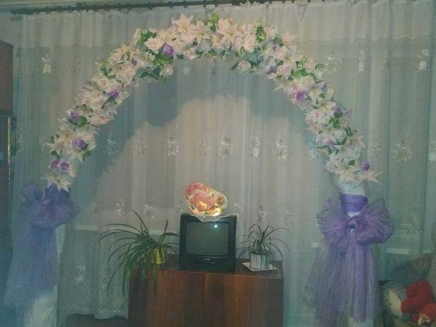 Арка на свадьбу для молодых