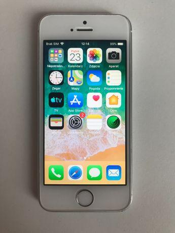 iPhone 5s srebrny 16gb używany