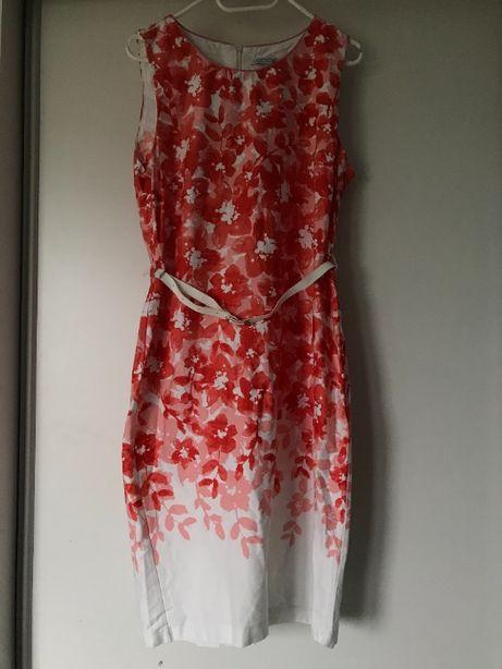 Sukienka w kwiaty r42