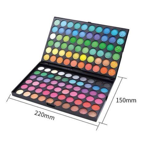 Палитра теней 120 цветов