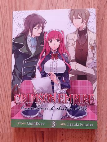 Manga Crimson Empire tom 3 po angielsku