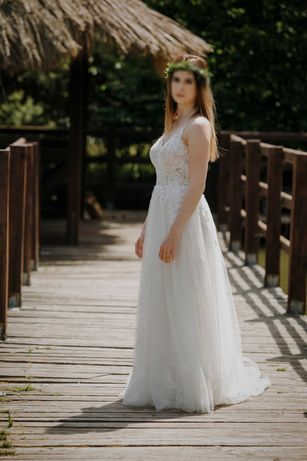 Suknka ślubna  Stella York 7083