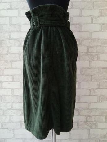 Вельветовая юбка миди, новая