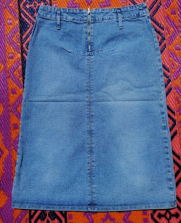 Spódnica jeans długa LILA