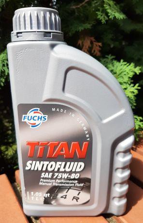 Olej przekładniowy 1L Fuchs Titan Sintofluid SAE 75W80