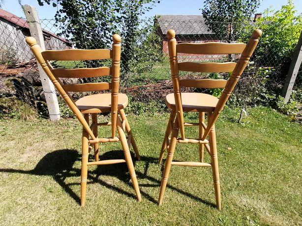 Hokery krzesła 2 szt