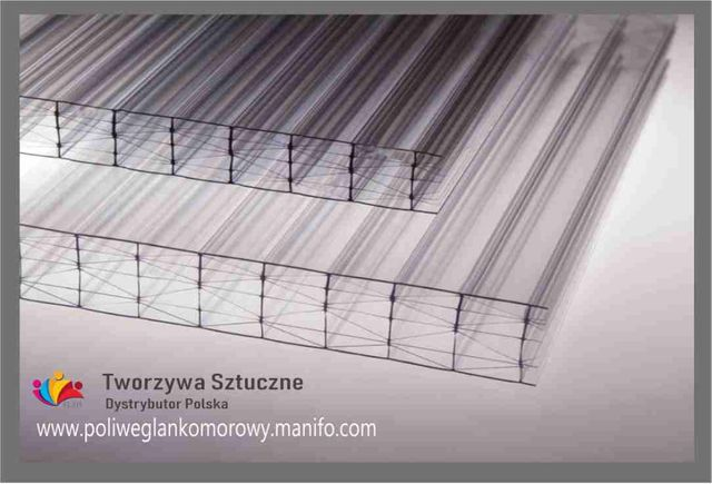 Poliwęglan Komorowy Lity UV 4,6,8,10,16,20,25,32mm Zadaszenie tarasu