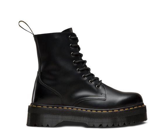 Зимние женские ботинки Dr.Martens Jadon на меху и без 1в1 Оригинал ТОП
