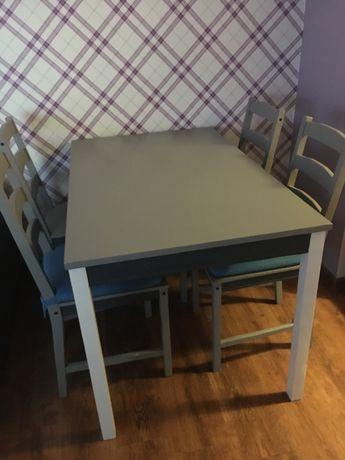 Stół i krzesla Ikea